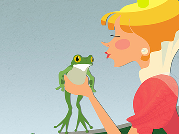 Stabilo Frog Princess Portfolio Post